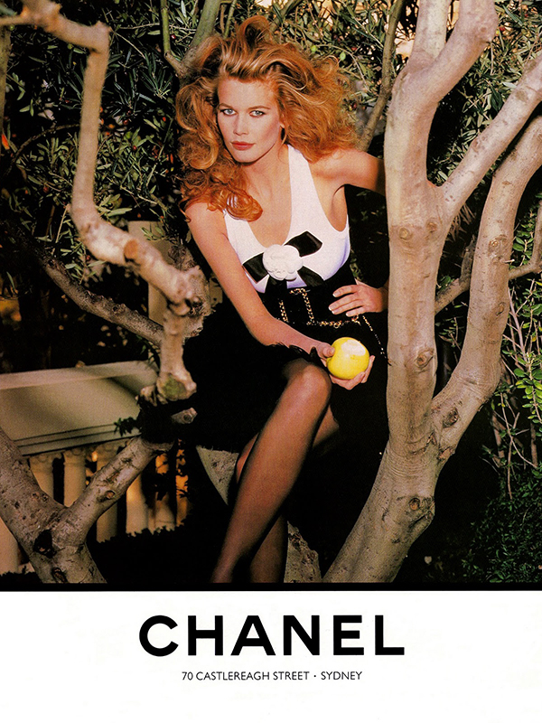 Kampania Chanel z 1990 roku