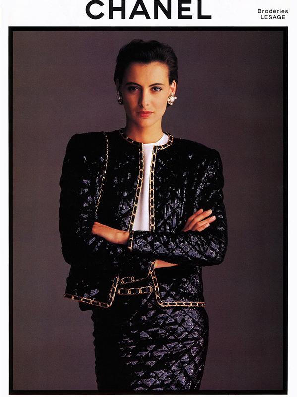 Kampania Chanel z 1980 roku