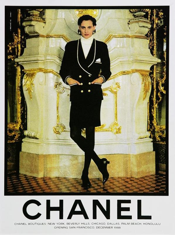 Kampania Chanel z 1982 roku