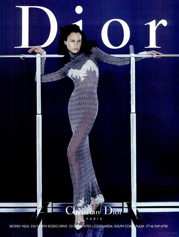 Kampania Dior z 1998 roku