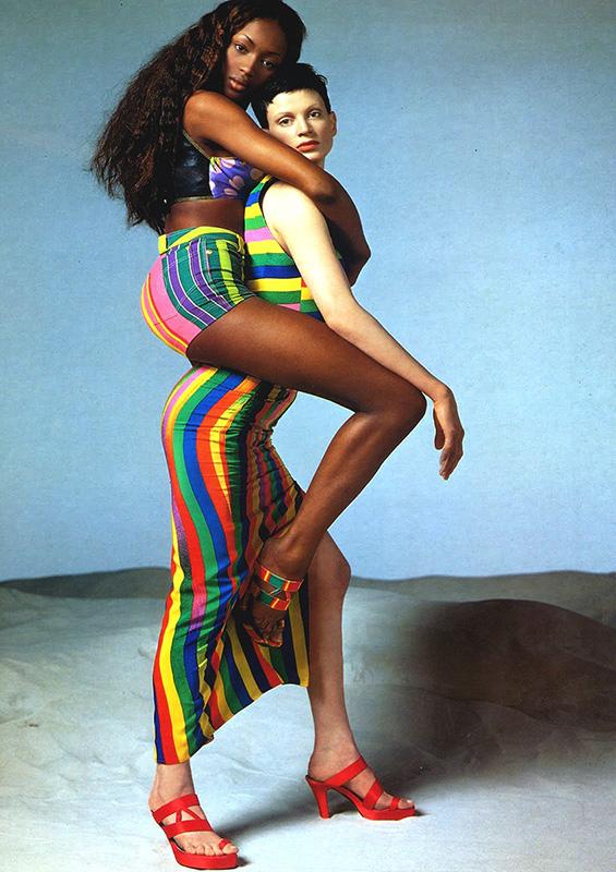 Kampania Versace 1990 roku