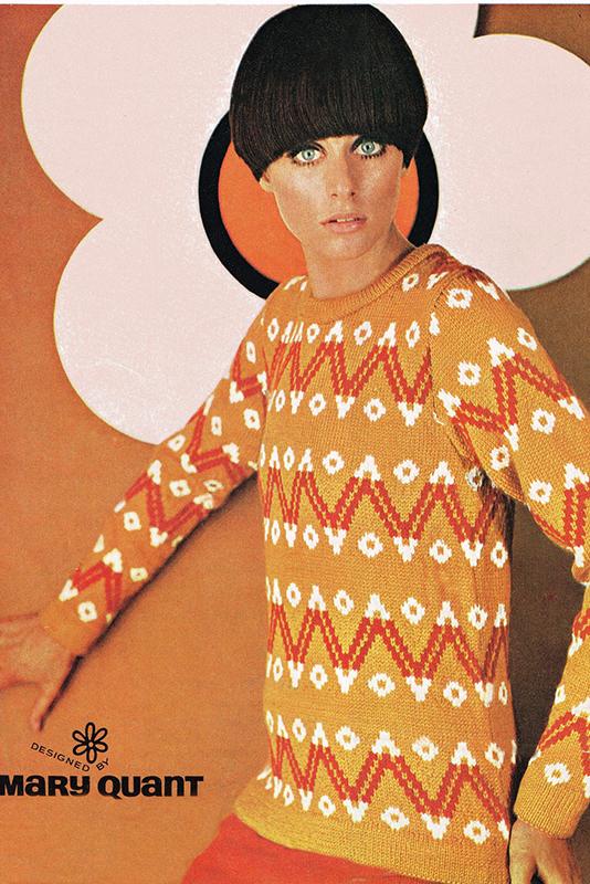 Reklama kolekcji Mary Quant
