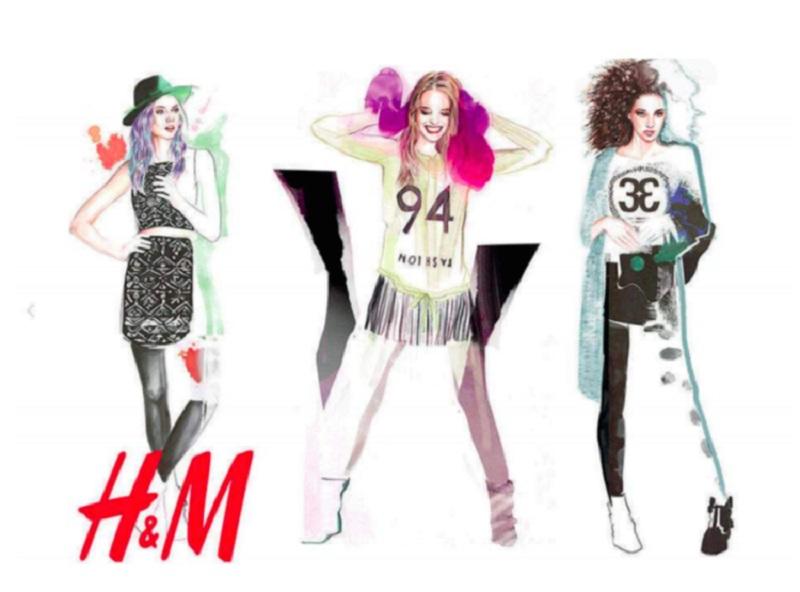 Adriana - współpraca z H&M