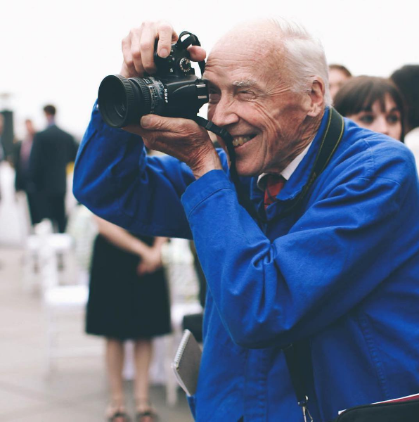 Bill Cunningham/Instagram @spiro.photo