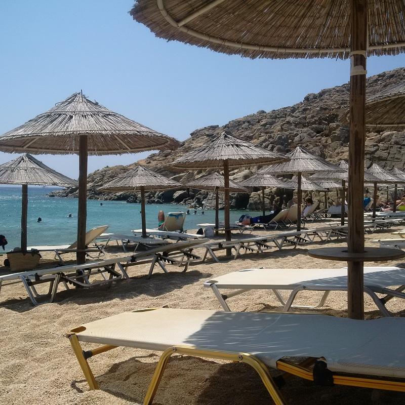 Agrari Beach - pusto i spokojnie/fot. Anna Puślecka