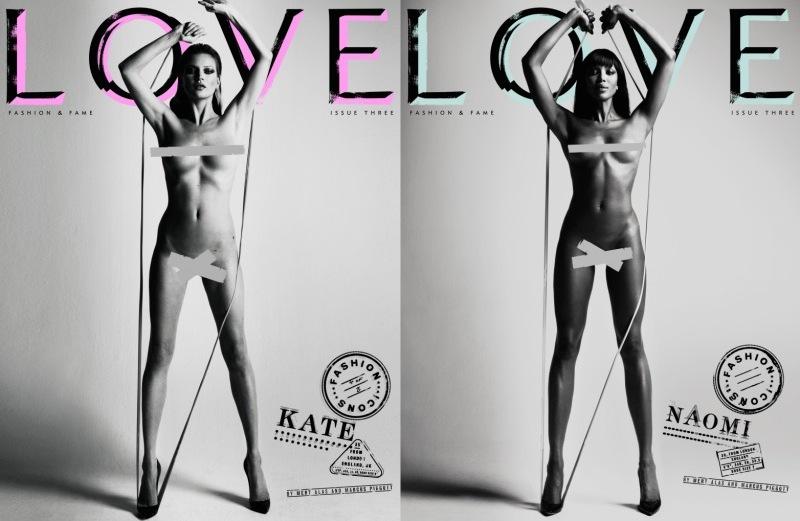 Okładka magazynu Love, fot.Mert&Marcus