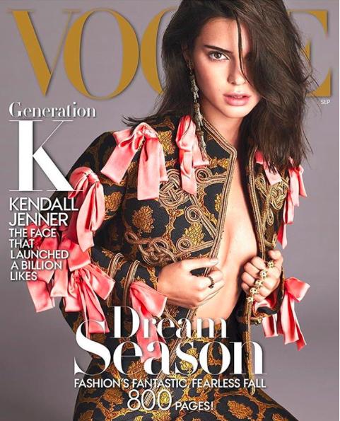 Vogue USA, Kendall Jenner