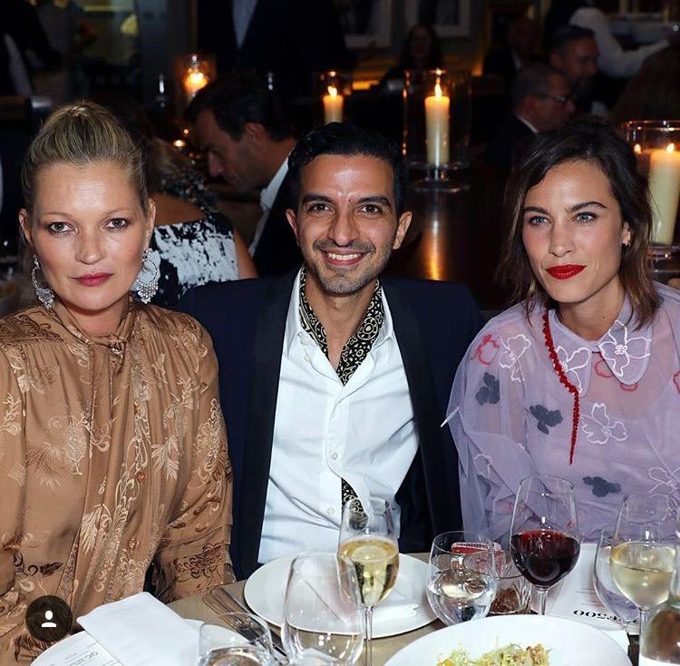Kate Moss, Imran Amed i Alexa Chung/Instagram: @bof
