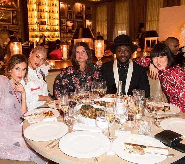 Alexa Chung, Yoon, Natalie Massenet, Will.i.am i Eva Chen/Instagram: @bof