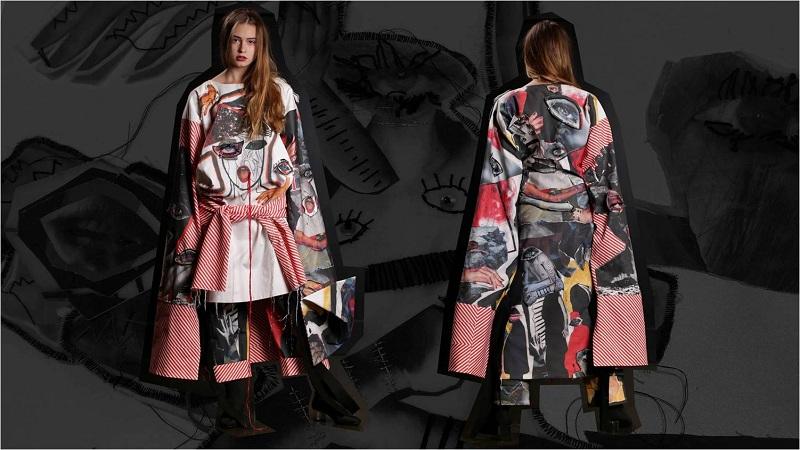 Praca laureatki kategorii Fashion Design Jagody Bartczak/fot. materiały prasowe Art & Fashion Forum by Grażyna Kulczyk