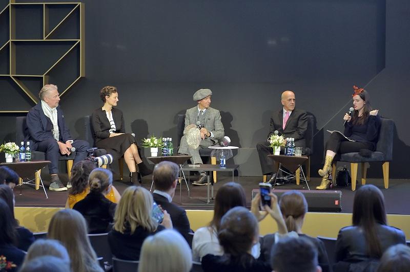 Panel mody podczas Art & Fashion Forum/fot. materiały prasowe Art & Fashion Forum by Grażyna Kulczyk