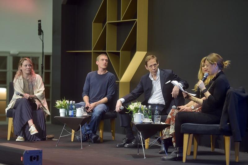 Panel sztuki podczas Art & Fashion Forum/fot. materiały prasowe Art & Fashion Forum by Grażyna Kulczyk
