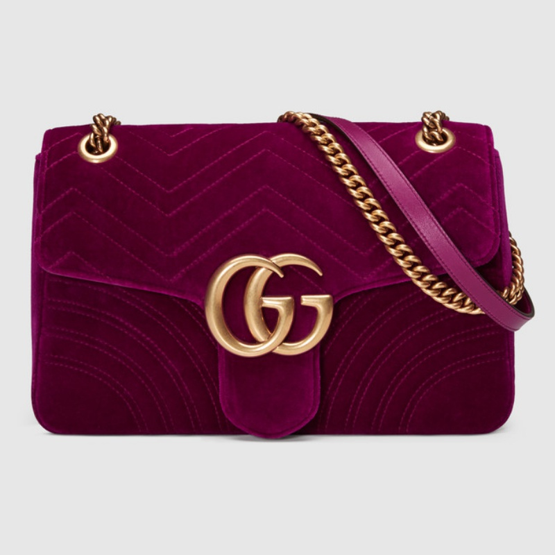 Model torebki Gucci GG Marmont Flap Bag