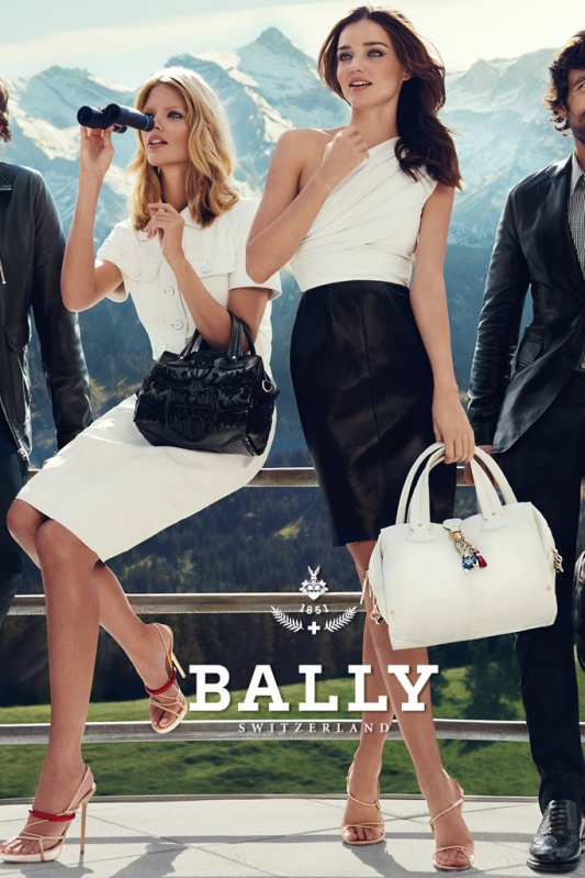 Kampania Bally wiosna/lato 2012