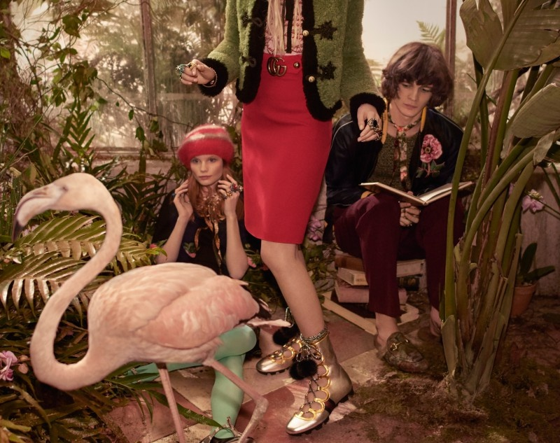 Kampania Gucci jesień/zima 2015