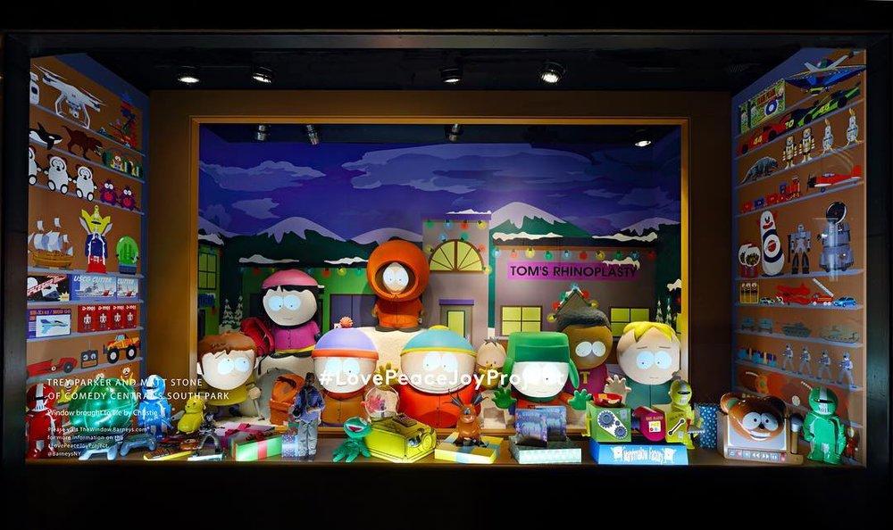 Wystawa Love Peace Joy w Barney's w Nowym Jorku/Instagram: @barneysny
