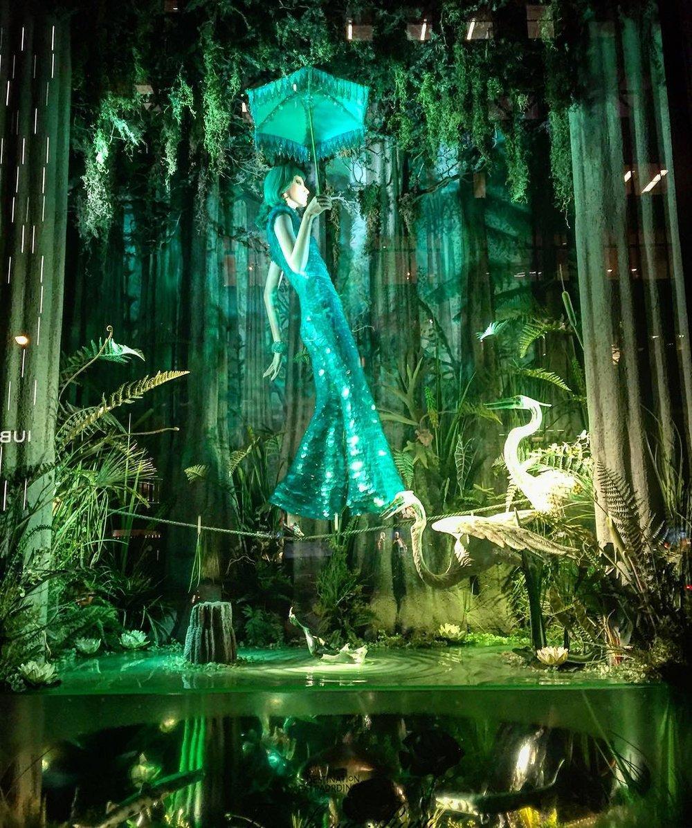 Wystawa świąteczna w Bergdorf Goodman w Nowym Jorku/Instagram: @bergdorfs