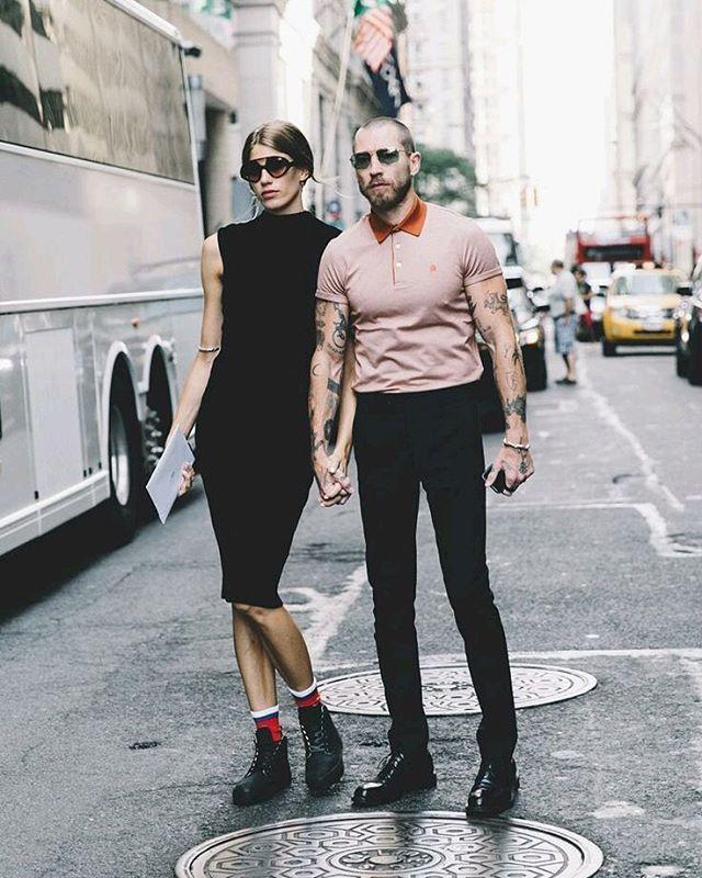 Veronika Heilbrunner's i Justin O'Shea/Instagram: @_livefashionista