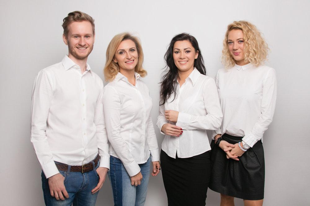 Członkowie Instytutu Prawa Mody: Arkadiusz Szczudło, adw. Magdalena Korol, Monika Pałka, Urszula Wiszowata