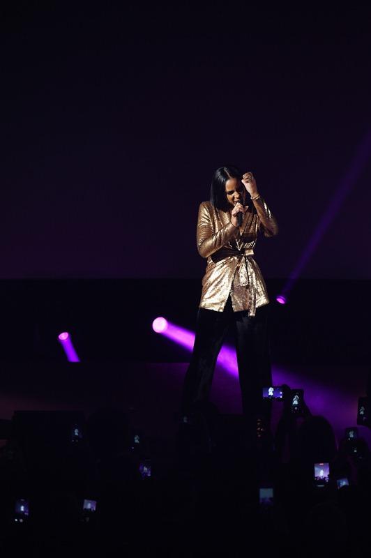 Kelly Rowland na scenie