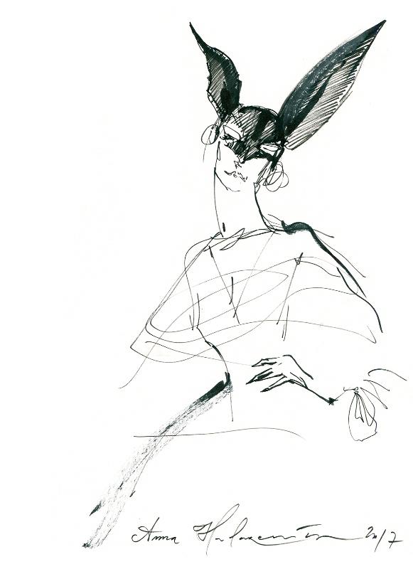Konstancja Lackorońska/Ilustracja: Anna Halarewicz