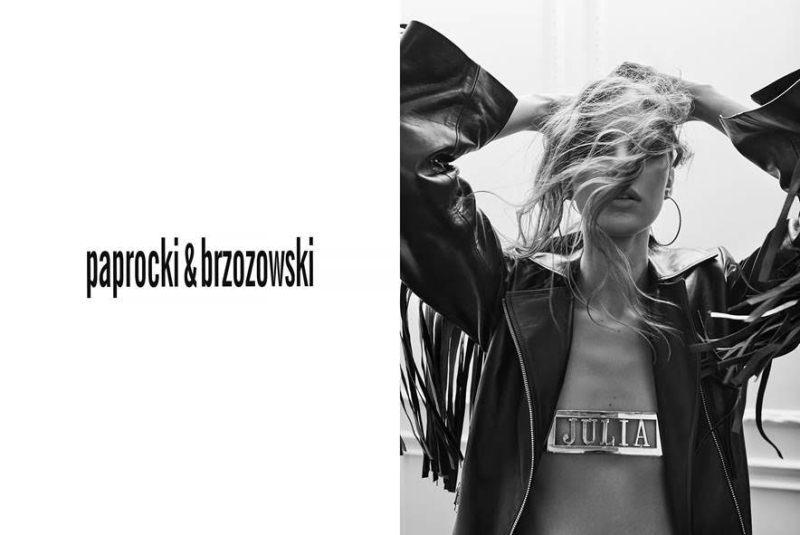 """Kampania kolekcji """"Julia's not dead"""" duetu Paprocki&Brzozowski/fot. Mateusz Stankiewicz"""