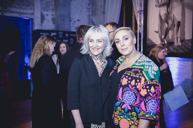Katarzyna Krawczyk (po prawej) - dyr. marketingu Badura i Anna Puślecka - red. nacz. DYKF/fot. Sławomir Lubowicki