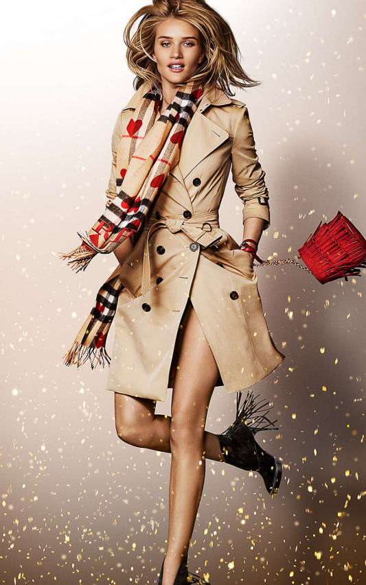Kampania Burberry Festive Holiday