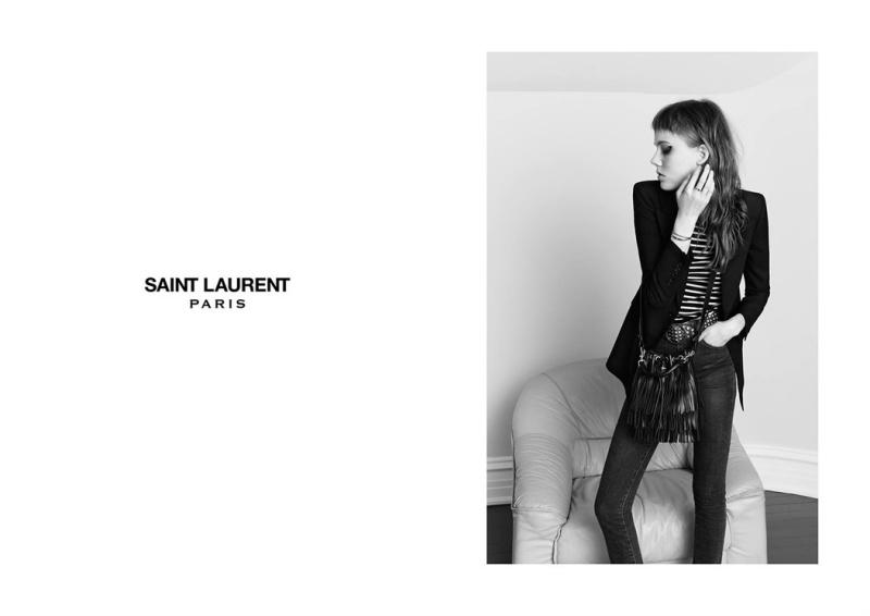 Kampania Saint Laurent wiosna - lato 2015