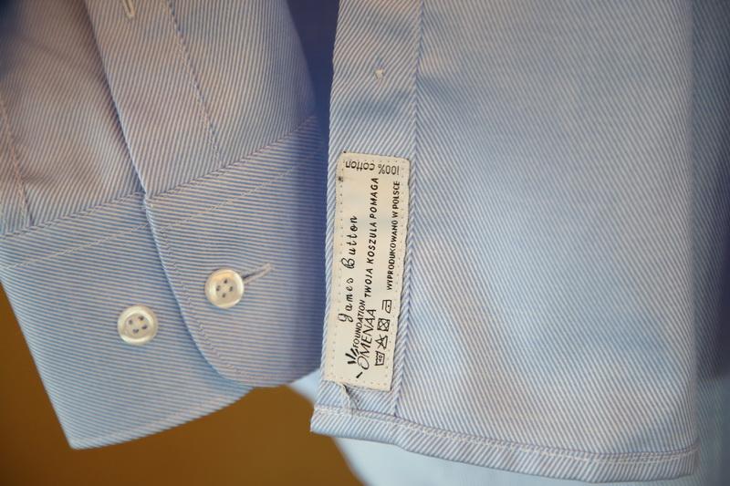 Koszula marki James Button/fot. Tomek Tomkowiak