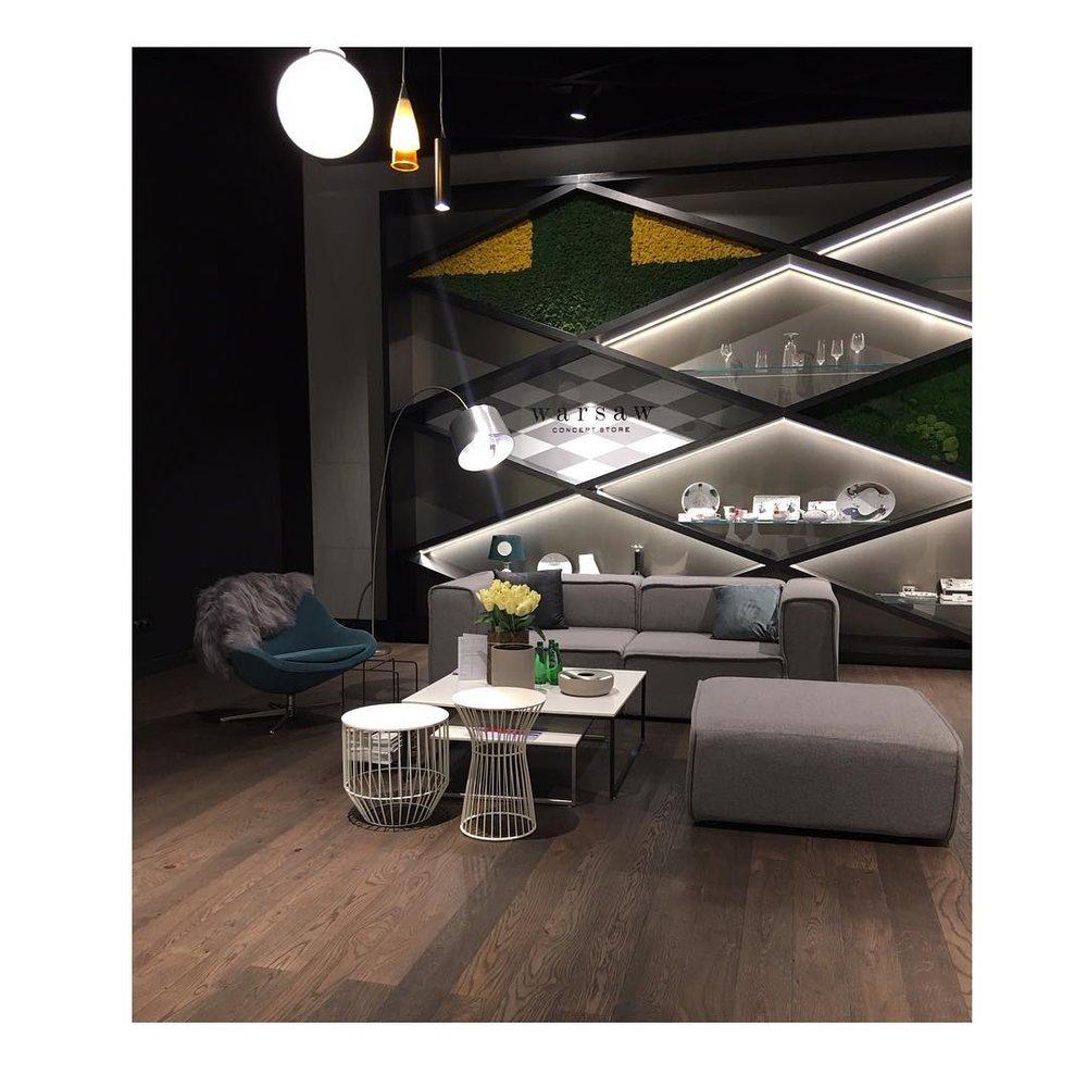Strefa home w butiku Warsaw Concept Store/Instagram: @warsawconceptstore