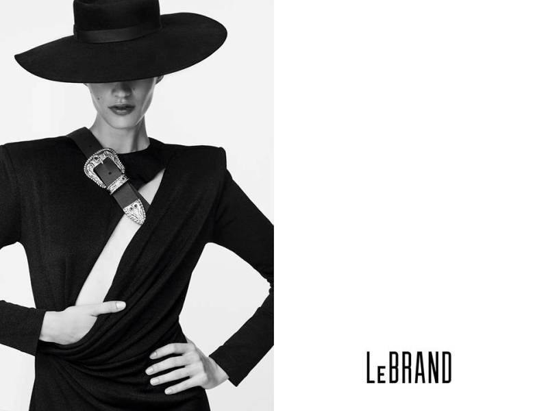 Kampania LeBRAND na sezon jesień-zima 2017/fot. Magdalena Luniewska