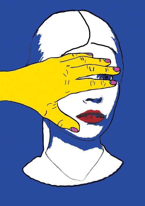 Ola Rudnicka - ilustracja wykonana podczas warsztatów Art&Fashion Forum/Ilustracja: Aneta Klejnowska