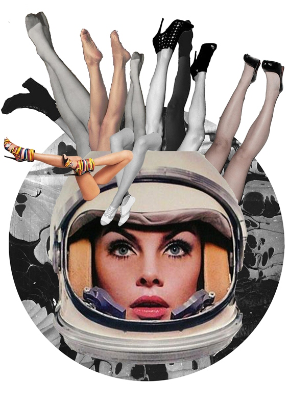 Cosmic girls/Ilustracja: Aneta Klejnowska