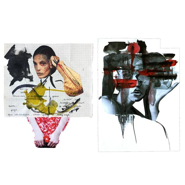 Fashion collage/Ilustracja: Aneta Klejnowska