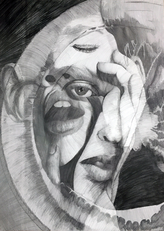 Faces drawing/Ilustracja: Aneta Klejnowska