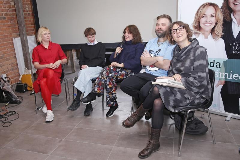 Karolina Sulej – Kubik, Ewa Kowalewska-Kondrat – Harel, Monika Kędziora, Marcin Różyc, Martyna Wilde /fot. AKPA