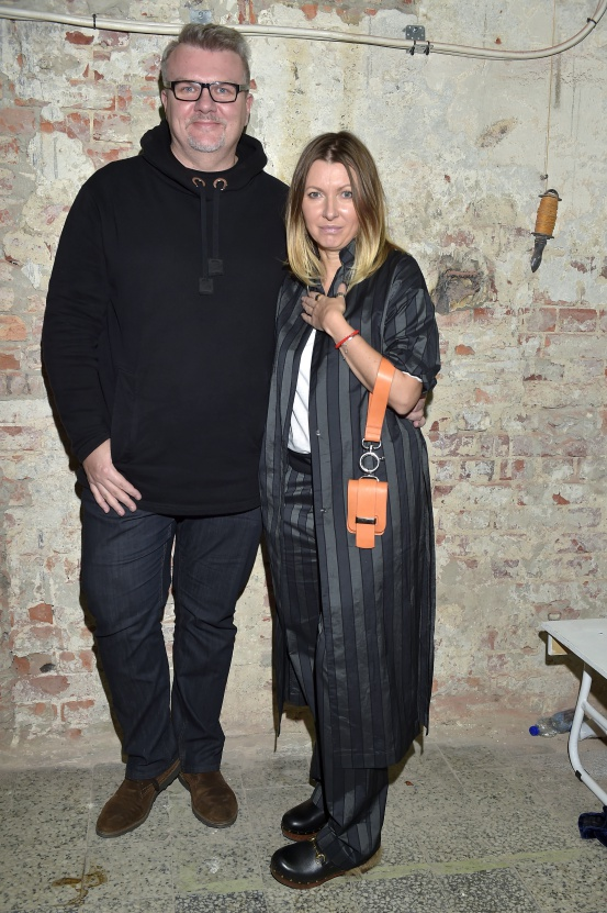 Rafał Michalak oraz Ilona Majer  /fot.AKPA
