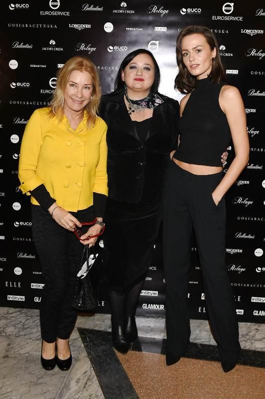 Małgorzata Potocka, Gosia Baczyńska i Marta Dyks/fot. Andrzej Marchwiński - Fashion Images