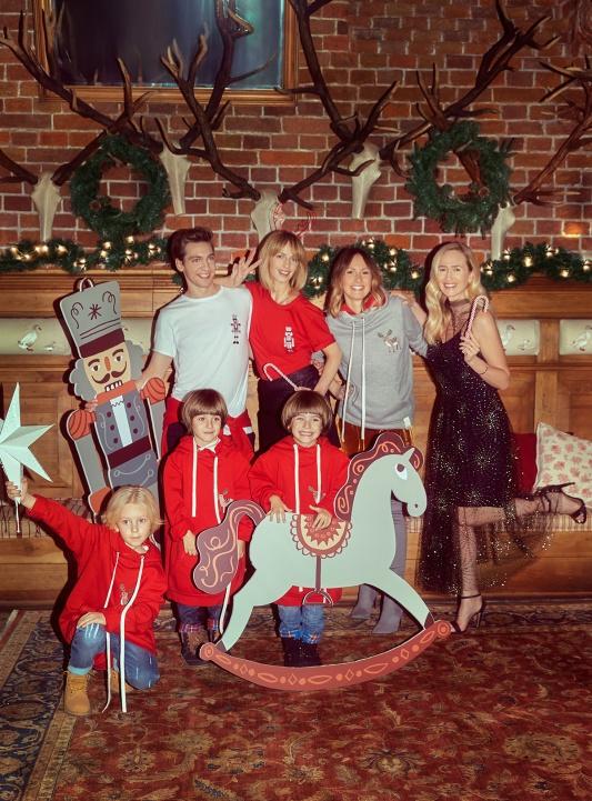 Kampania świątecznej kolekcji Łukasz Jemioł Basic