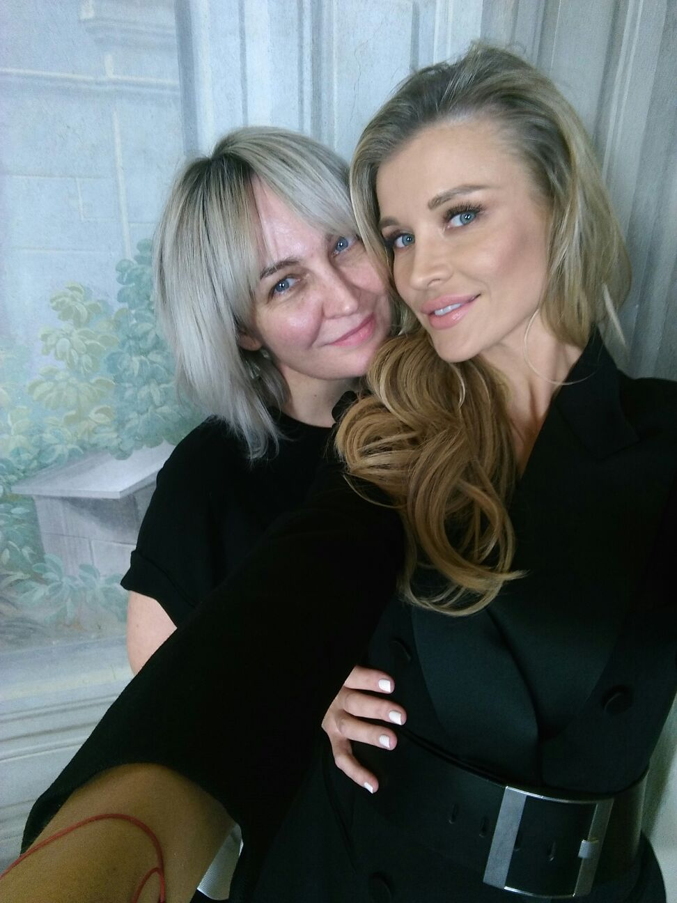 Joanna Krupa i Anna Puślecka, redaktor naczelna DYKF.pl i odpowiedzialna za projekt