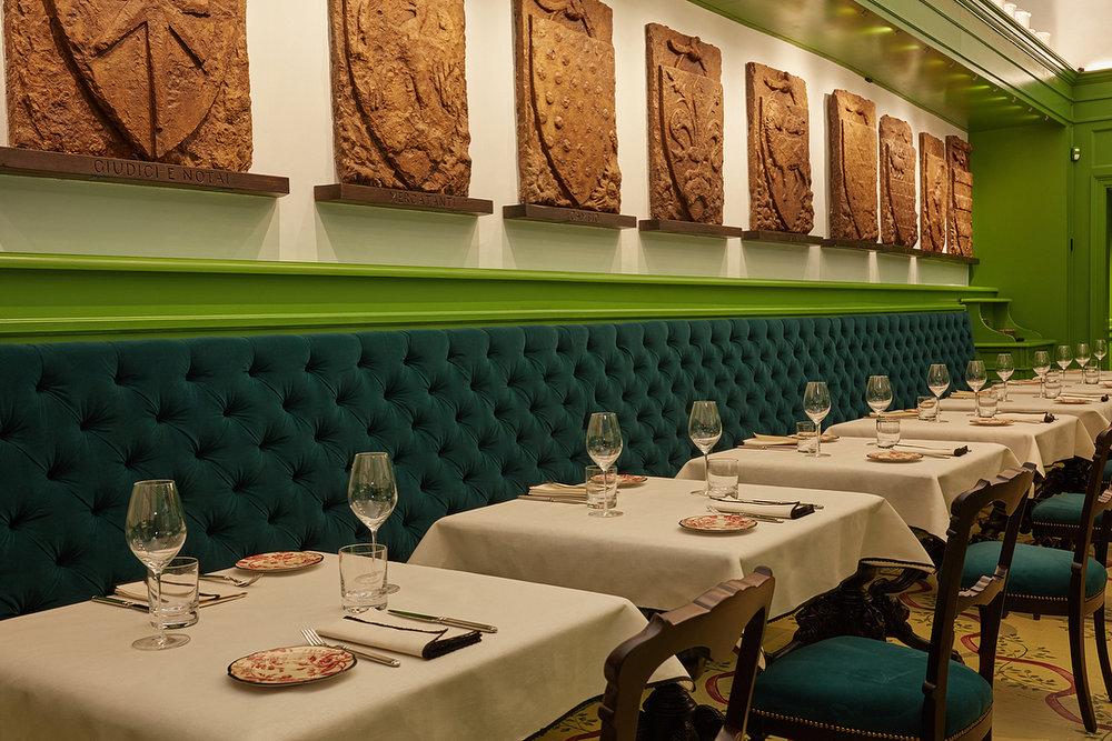 """Wnętrze restauracji """"Gucci Osteria"""" we Florencji/Instagram: @gucci"""