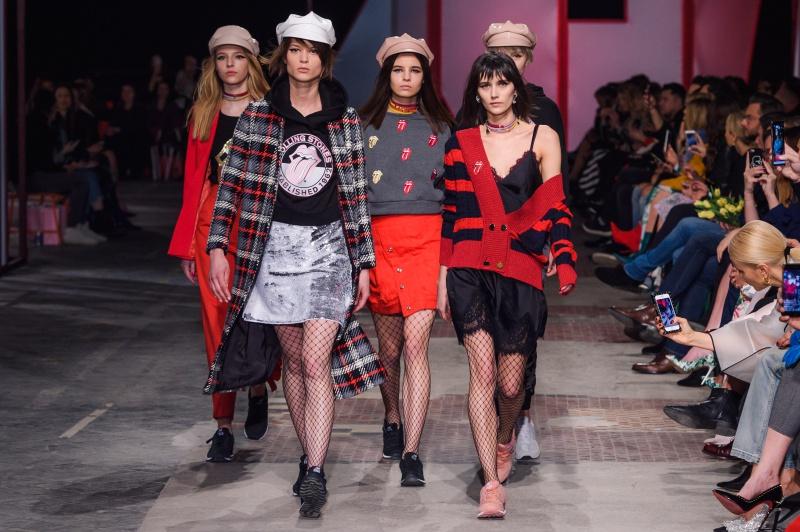 "Kolekcja ""The Rolling Stones"" Bizuu wiosna-lato 2018 fot./ Filip Okopny - Fashion Images"