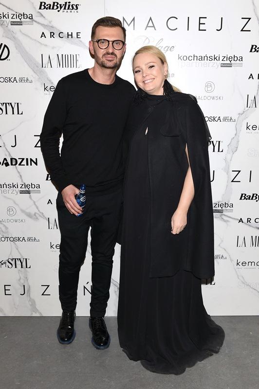 Maciej Zień i Agnieszka Jastrzębskafot.Andrzej Marchwiński - Fashion Images