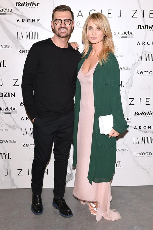 Maciej Zień i Aneta Kręglickafot.Andrzej Marchwiński - Fashion Images