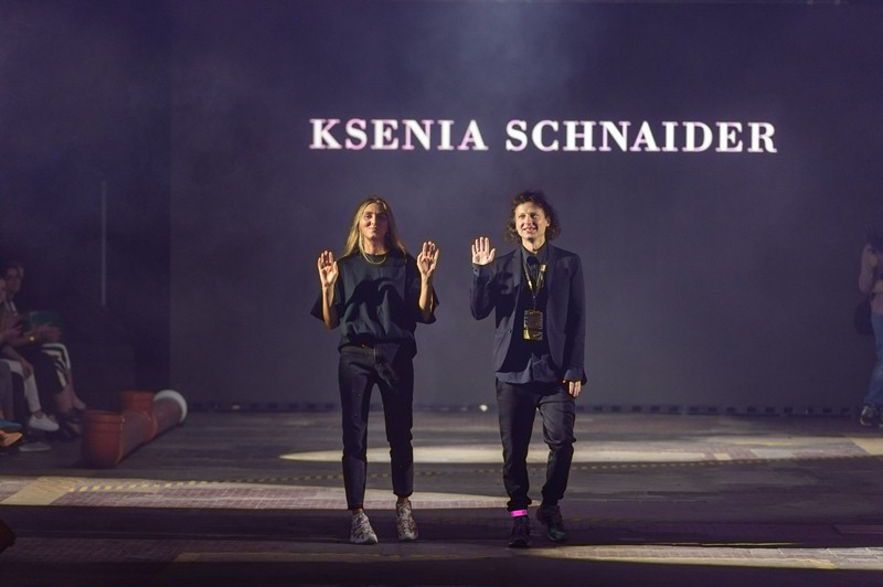 Pokaz Ksenii Schneider podczas gali Fresh Fashion Awards 2018/fot. Filip Okopny - Fashion Images