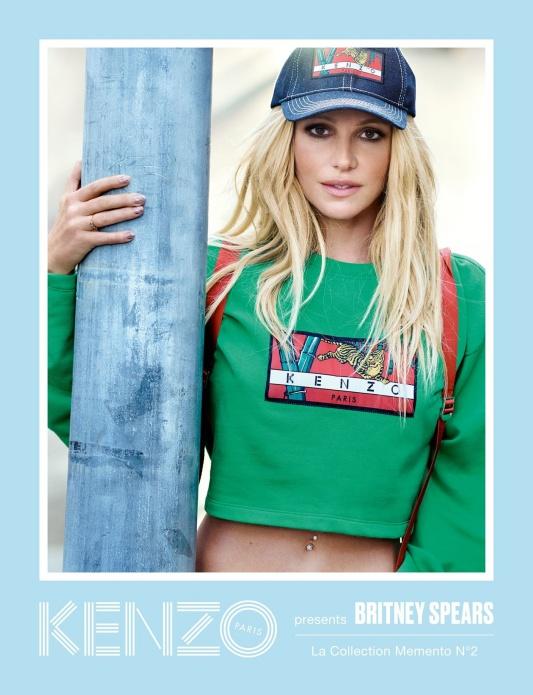 Kampania Britney Spears x Kenzo /fot.Peter Lindberg