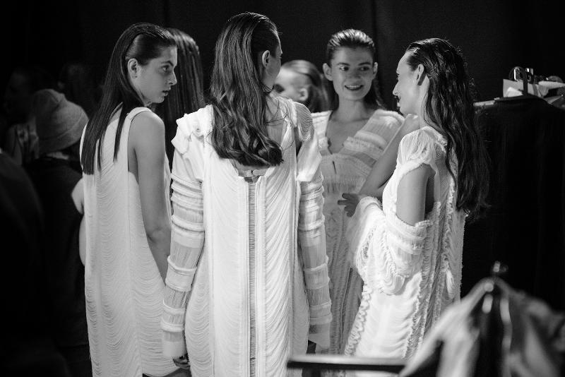 Backstage pokazu kolekcji Małgorzaty Soboty podczas 9. edycji Fashion Designer Awards/fot. Łukasz Jezierski