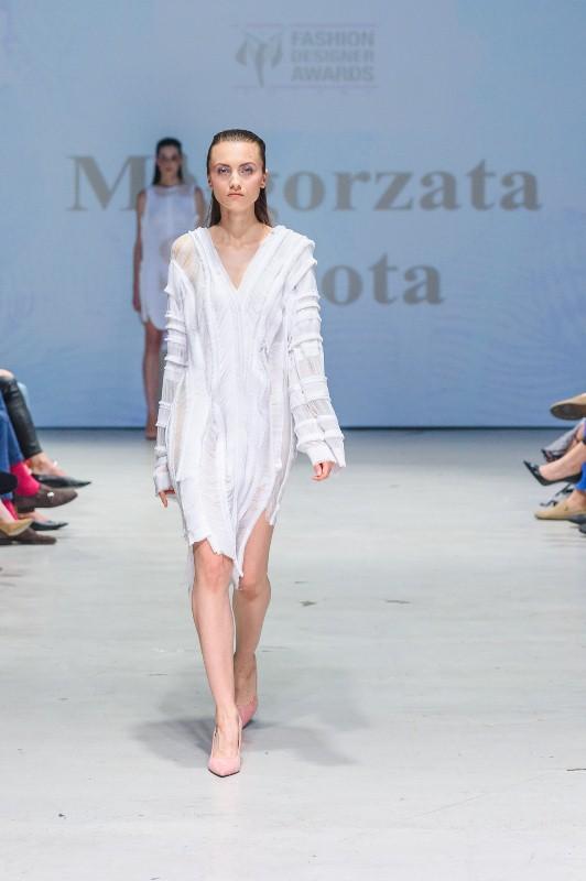 Pokaz kolekcji Małgorzaty Sobotypodczas 9. edycji Fashion Designer Awards/fot. Filip Okopny