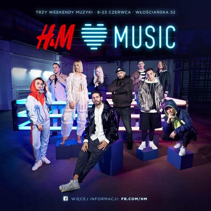 Artyści, którzy wystąpią podczas H&M Music/fot. materiały prasowe